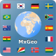 World atlas & world map MxGeo Pro:  App for geography